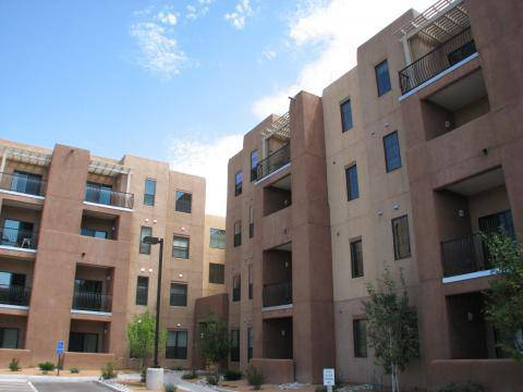 Attractive Tres Santos De Santa Fe Apartments Offers One And Two Bedroom Units For  Rent. The Complex Is Aptly Named, Being At The Junction Of The Three  Streets Named ...
