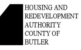 Housing and Redevelopment Authority of the County of Butler