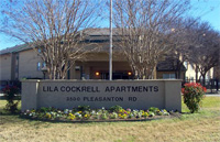 Lila Cockell San Antonio Housing Authority Public Housing Apartment