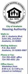 City of Anaheim Housing Authority