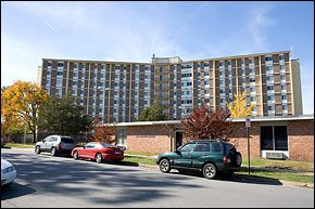 Powell Towers Little Rock Public Housing Apartments
