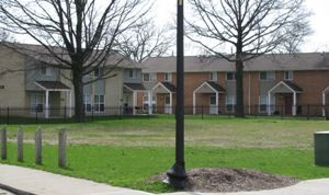 Blackburn Terrace Indianapolis Low Rent Public Housing