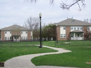 Hawthorne Place Indianapolis Low Rent Public Housing