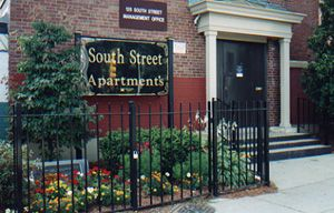 South Street Boston Low Rent Public Housing Apartments