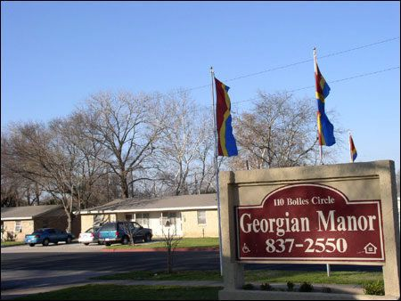 Georgian Manor - Austin Low Rent Public Housing Apartments