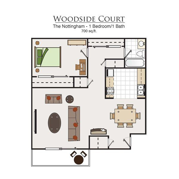 Woodside Court Apartments