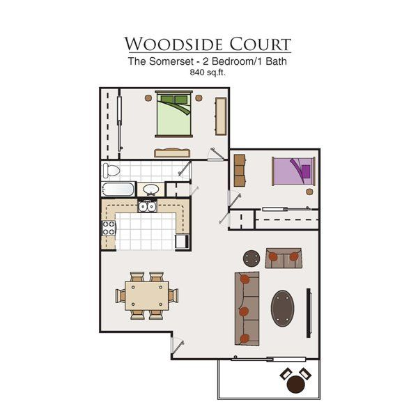Income Restricted Apartments In Dc: Woodside Court Apartments, 555 Alaska Ave, Fairfield, CA