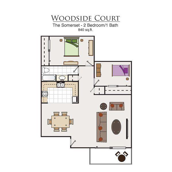 Woodside Court Apartments, 555 Alaska Ave, Fairfield, CA