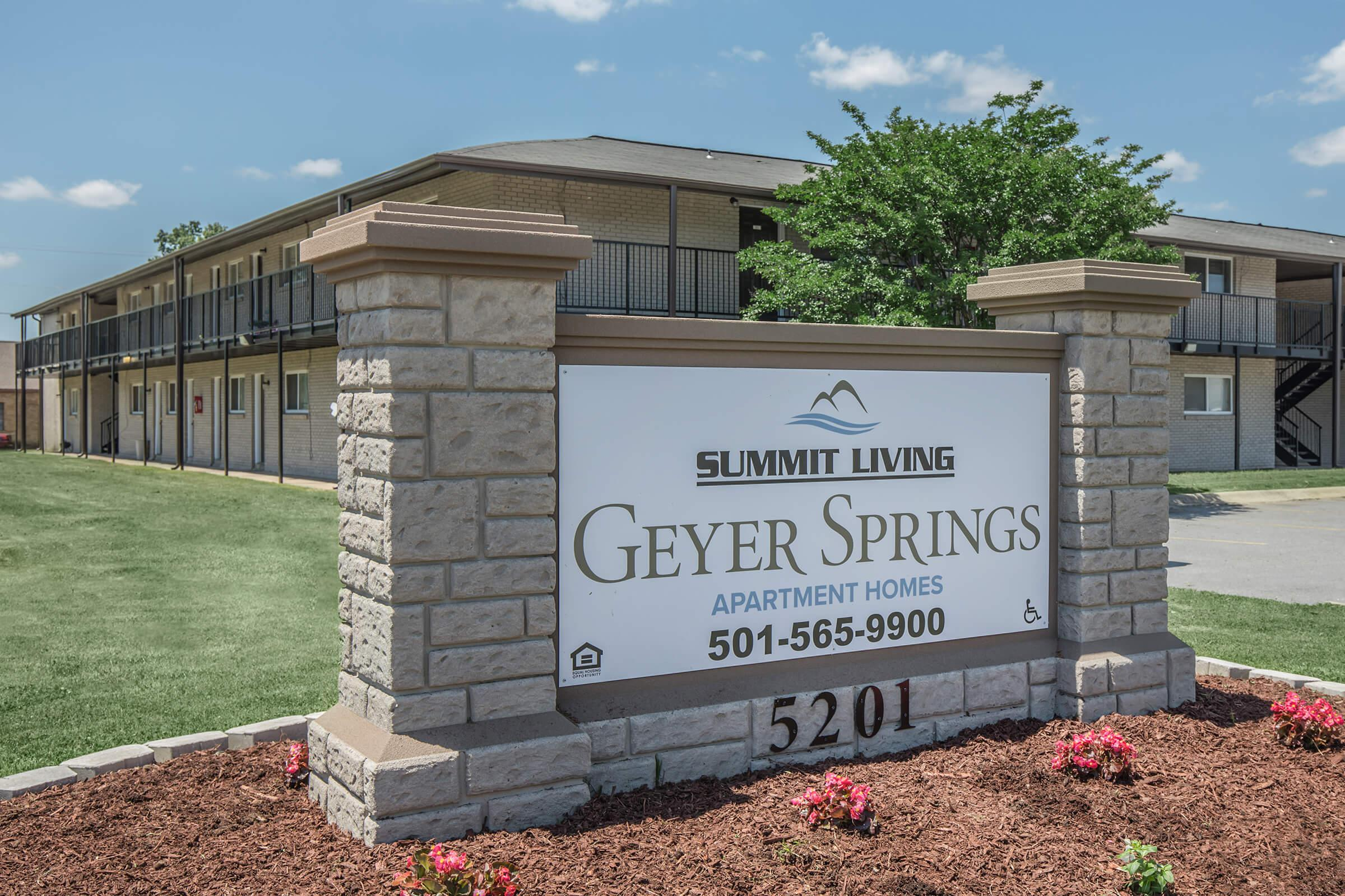 Summit Living Geyer Springs Apartment Homes - Affordable Community